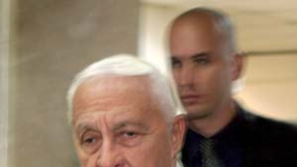 Scharon: Palästinensische Bemühungen unzureichend