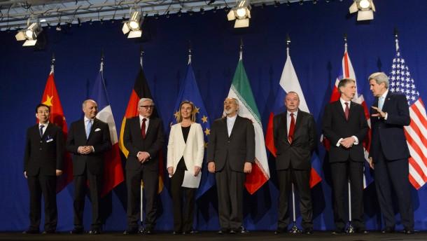 Durchbruch bei Verhandlungen über iranisches Atomprogramm