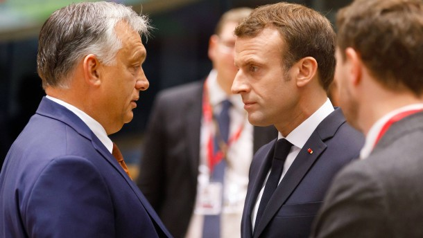 "Orbáns ""Coronadiktatur"" entrüstet Macron"