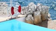 Ziel der gestellten Terror-Attacke: Das auch bei Filmstars beliebte Hotel Du Cap - Eden-Roc in Antibes