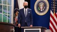 US-Präsident Joe Biden auf einem virtuellen Coronavirus-Gipfel im September