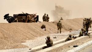 Selbstmordanschlag auf Nato-Konvoi