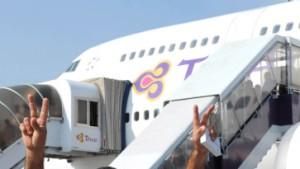 Flughafen-Blockaden in Bangkok beendet