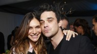Ayda Field und Robbie Williams im Februar 2013 in Los Angeles