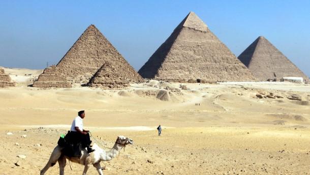 Deutsche wegen Pyramiden-Raubs verurteilt
