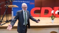 """Tauber auf dem CDU-Parteitag im Main-Kinzig-Kreis: """"Ich bin ein Mensch, ich mache Fehler"""""""