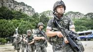 Amerika und Südkorea beginnen Militärmanöver