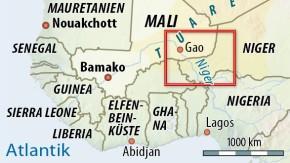 Karte / Mali / Gao