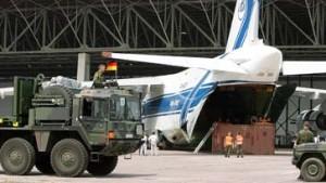 Deutsche Soldaten unterwegs nach Kongo