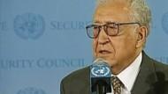 Der Syrien-Sondergesandte glaubt an eine Lösung des Konflikts.