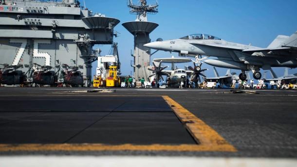 Irak bittet Amerika um Luftangriffe