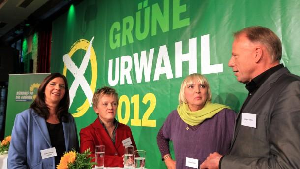 Grüne Urwahl-Kandidaten
