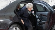 Theresa May am Dienstag in Berlin