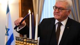 Steinmeier: Antisemitismus ist nicht überwunden