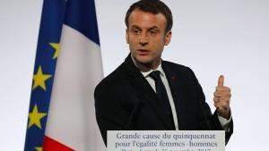 """Altmaier sagt Macron """"konstruktive Zurückhaltung"""" zu"""