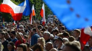 EU-Parlament sieht Demokratie in Polen in Gefahr