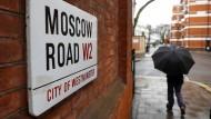 Ein Stückchen Moskau in England: ein Blick auf die russische Botschaft in London
