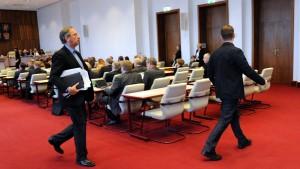 Gericht: Fragerecht von NPD-Abgeordnetem verletzt