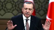 Will eine Stadt für Flüchtlinge - aber nicht in seinem Land: Der türkische Präsident Recep Tayyip Erdogan