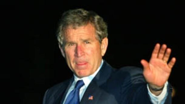 """Bush: """"Moment der Wahrheit"""" - Irak droht mit Terror"""
