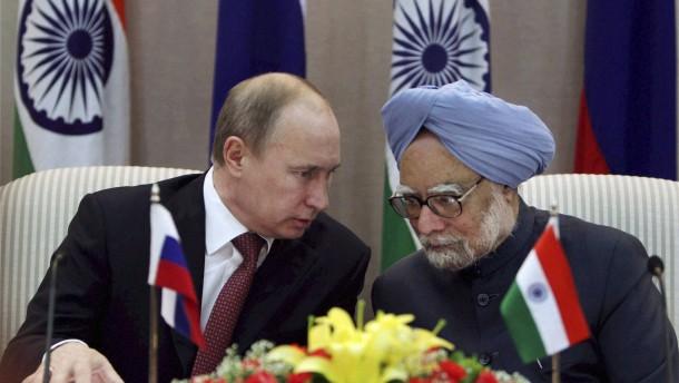 Milliardenschweres Waffengeschäft zwischen Russland und Indien