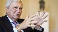 Seit fast neun Jahren Ministerpräsident von Hessen: Volker Bouffier (CDU)