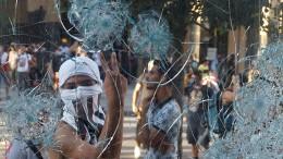 Libanons Regierung wankt nach Explosion immer stärker