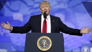 Trump gesteht Fehler ein
