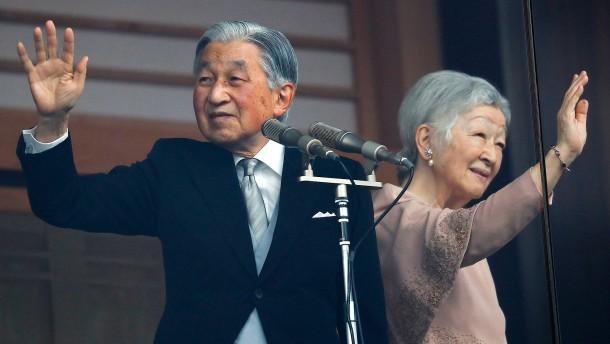 Kaiser Akihito hält letzte Rede vor seiner Abdankung