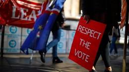 """""""Ein Brexit mit minimiertem Chaos"""""""