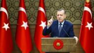 Erdogan warnt vor einer Spaltung der Türkei