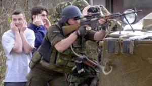 Mazedonier starten Offensive