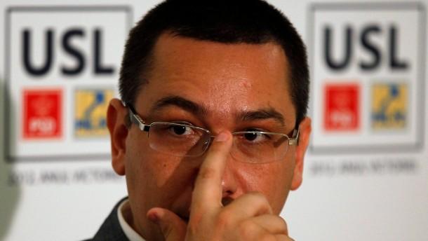 Victor Ponta des Plagiats überführt