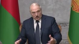 Wenn ich falle, fällt Belarus und danach Russland