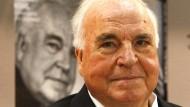Der ehemalige Bundeskanzler Helmut Kohl 2008 bei der Frankfurter Buchmesse