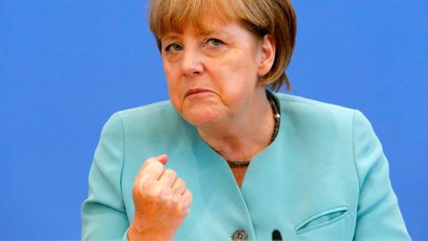 Merkel regt globales Datenschutz-Abkommen an