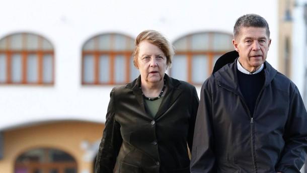 Merkel-Gatte hat keine Lust auf Rente
