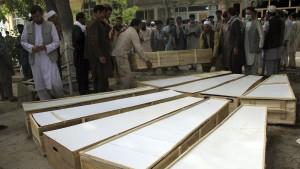 Zehn Tote bei Angriff auf Minenräumtrupp