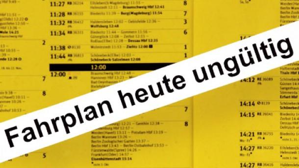 30 Stunden Bahnstreik ab Donnerstag