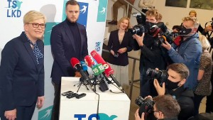 Machtwechsel in Litauen möglich