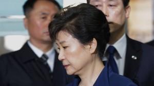 Park Geun-hye wegen Korruption angeklagt