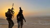 Soldaten des KSK in Mazar-i-Sharif