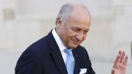 Französischer Außenminister kündigt Rücktritt an