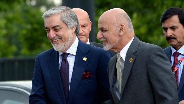Ghani und Abdullah vereinbaren Machtteilung in Afghanistan