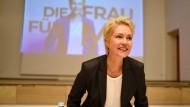Wird Ministerpräsidentin bleiben: Manuela Schwesig am 13. Oktober 2021
