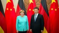 Hatten viel zu vereinbaren: Angela Merkel und der chinesische Präsident Xi Jinping in Peking
