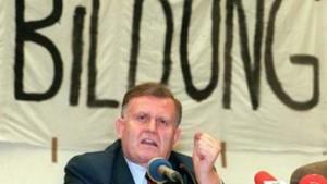 Erwin Teufel angeblich ohne Abitur