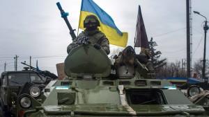 Amerika will vorerst keine Waffen an Kiew liefern