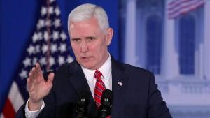 Trumps Vizepräsident kommt zur Münchner Sicherheitskonferenz