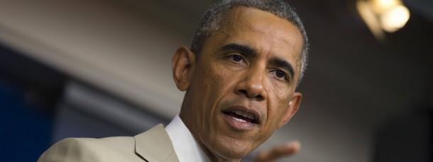 Militärisches Eingreifen ausgeschlossen: Amerikas Präsident Barack Obama gibt die Richtung vor